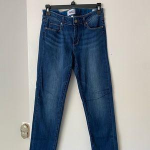 NWOT Paige Skyline Ankle Peg Skinny Jeans
